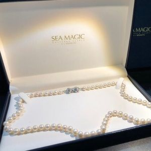 💕 MIKIMOTO SEA MAGIC CULTURED PEARL NECKLACE